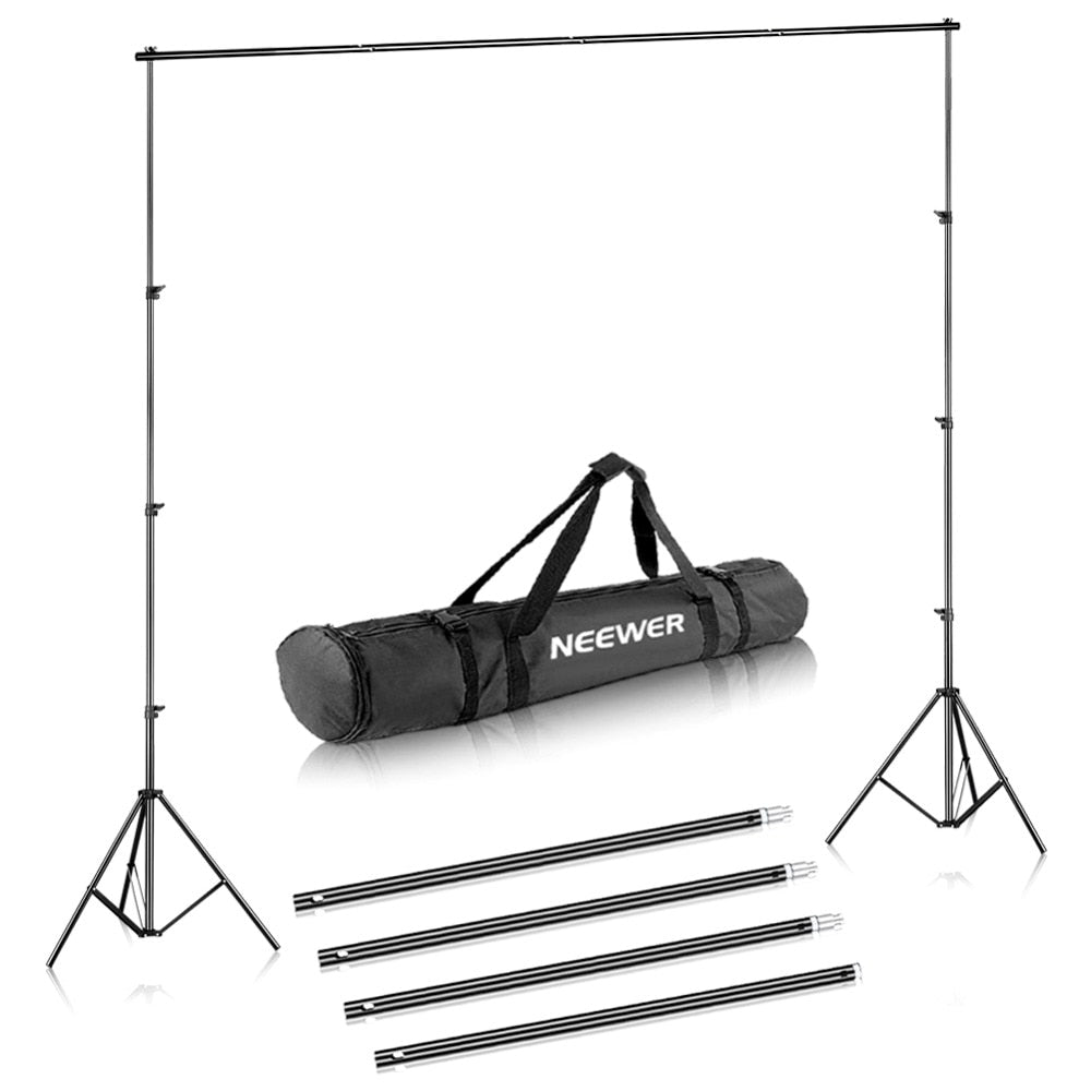 Backdrop Stand - Neewer 6.5x10 feet/2x3 meters - Background Stand Support Kit (U.S Only)