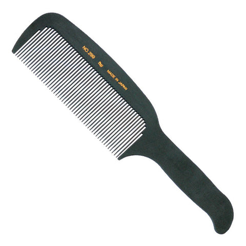 BW Carbon 299 Flat Top Barber Comb