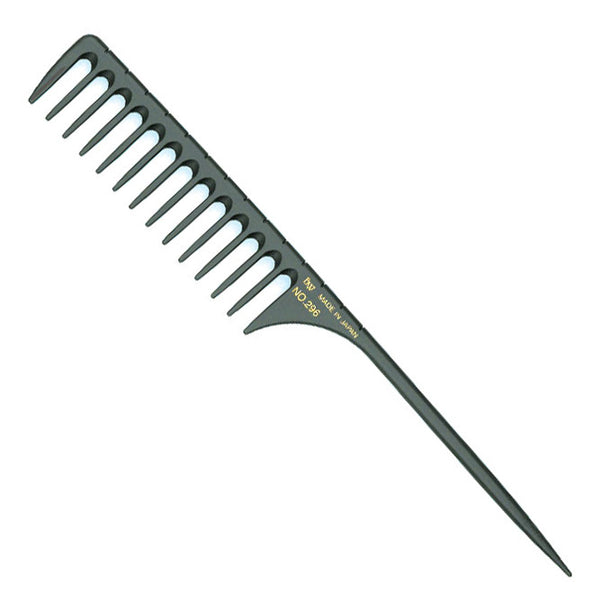 BW Carbon 296 Wide Tooth Tail Comb