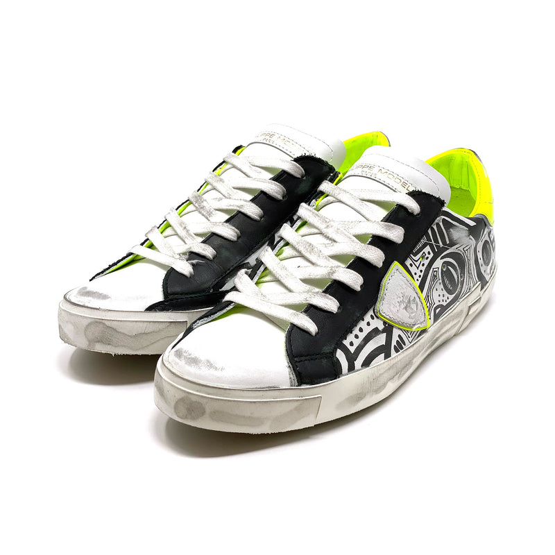 Philippe Model PRLDTR03 Low Top Sneaker
