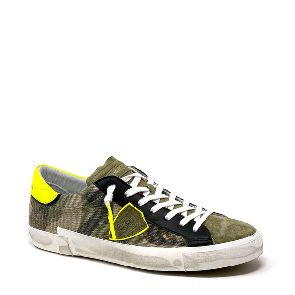 PRLUCF10 Low Top Sneaker | Camouflage