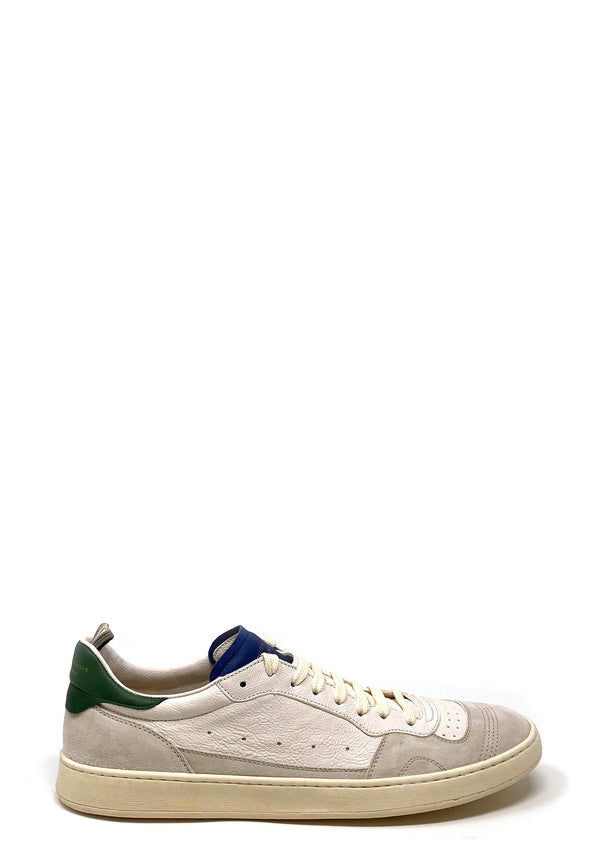 OCUKAVAS Low Top Sneaker | White Green