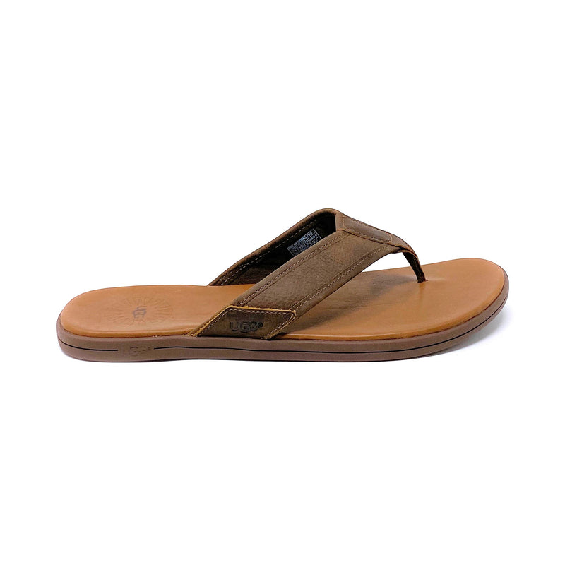 Sea Side Leder Flip-Flop