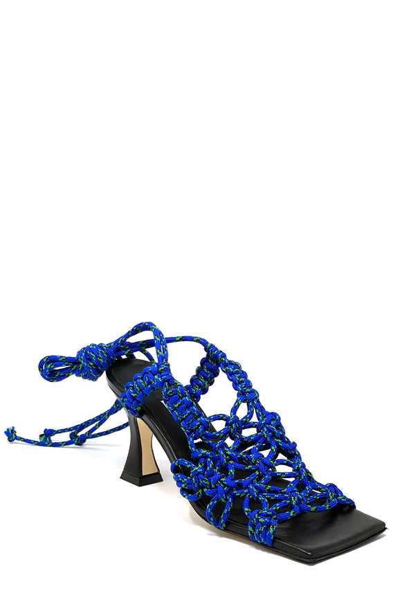 Stephanie Highheel Sandale | Maroccan Blue