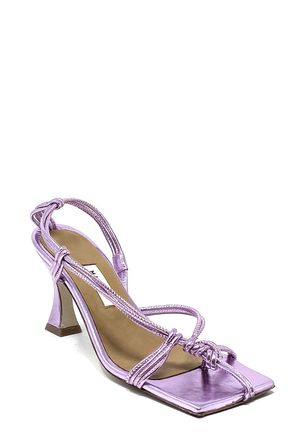 Amy Highheel Sandale | Lilac Metallic