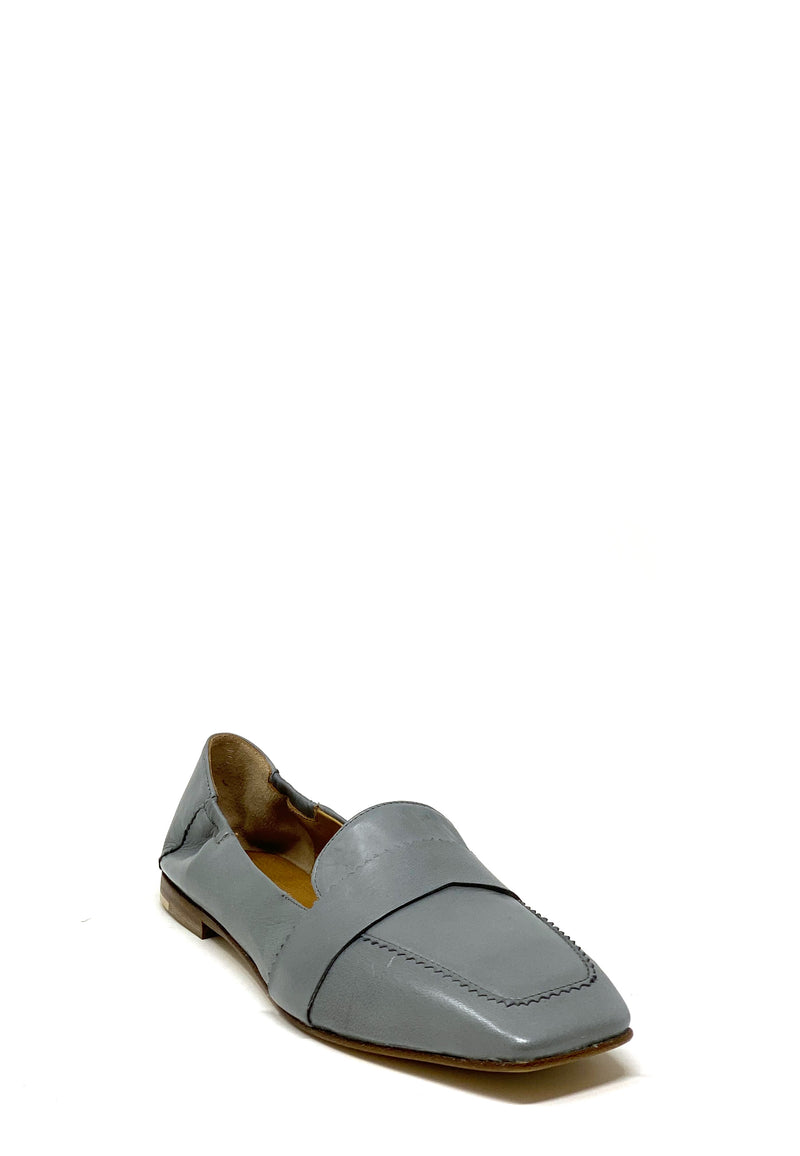 Tracy Square Toe Loafer | Stone