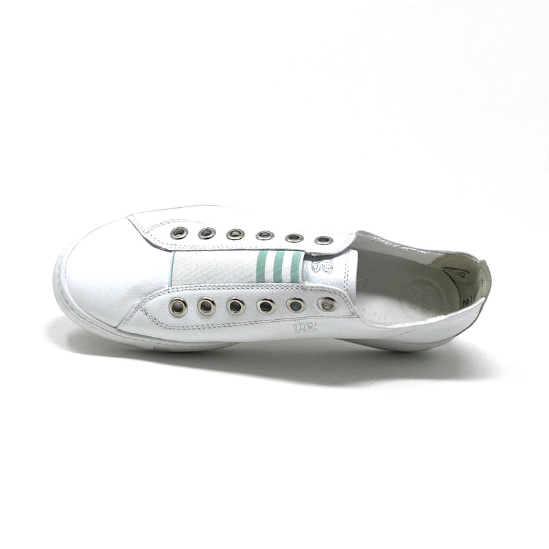 4797-128 Low Top Sneaker | White Mint