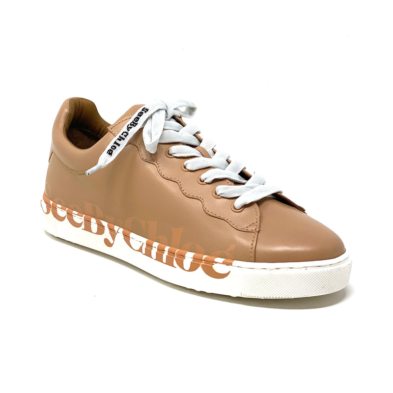 SB36033A Low Top Sneaker | Nude