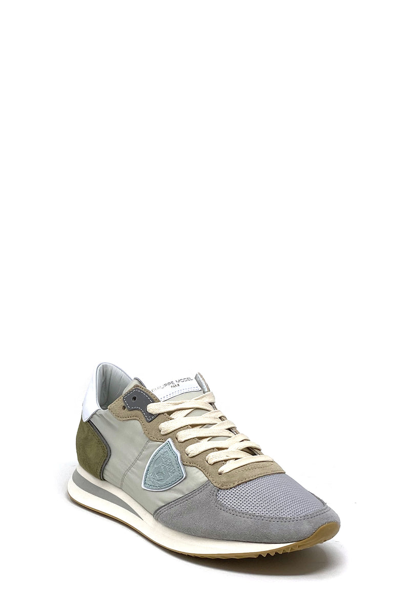 TZLDW062 Low Top Sneaker | Gris Blanc
