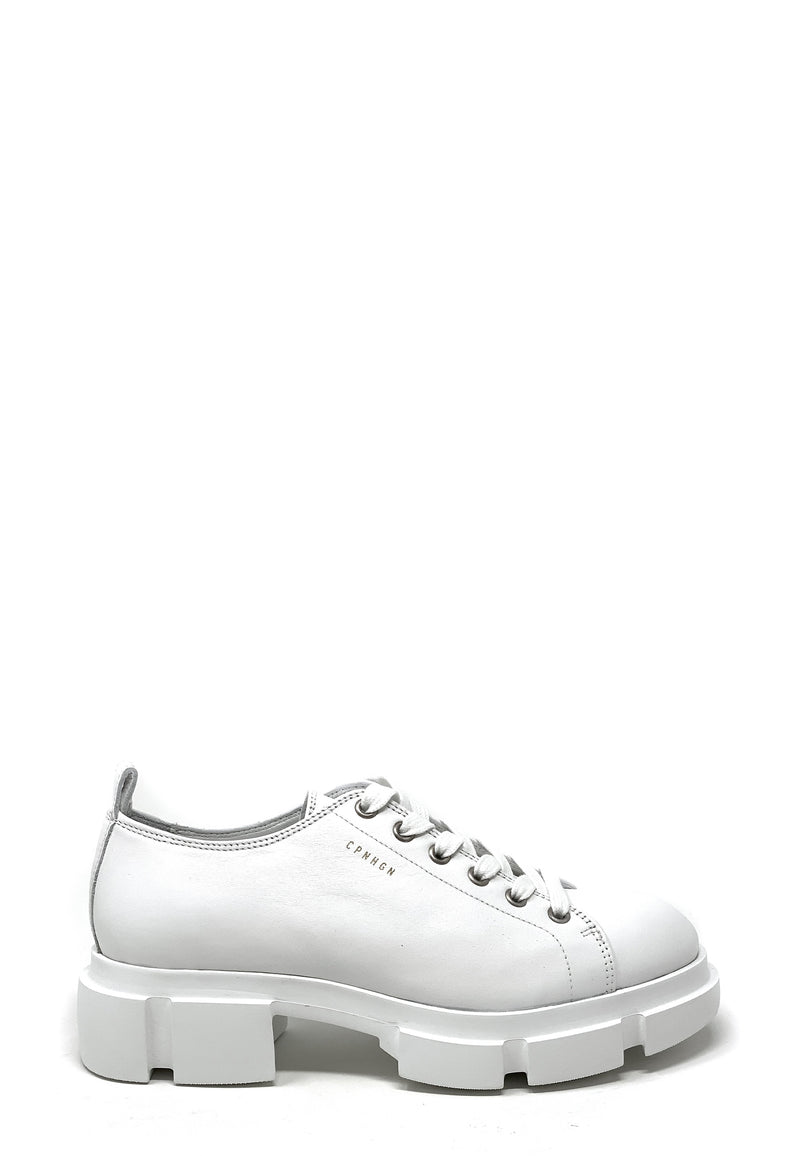 CPH527 Chunky Low Top Sneaker | White