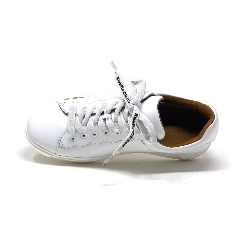 SB36033A Low Top Sneaker | White