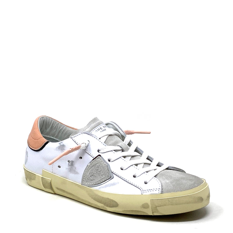 PRLDXC11 Low Top Sneaker | Blanc Saumon