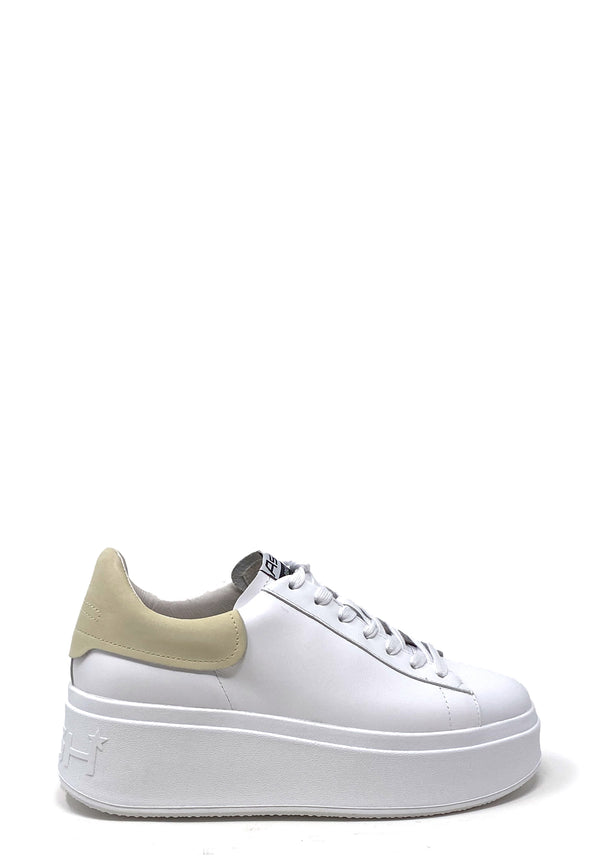 Moby Plateau Low Top Sneaker | White Vanilla