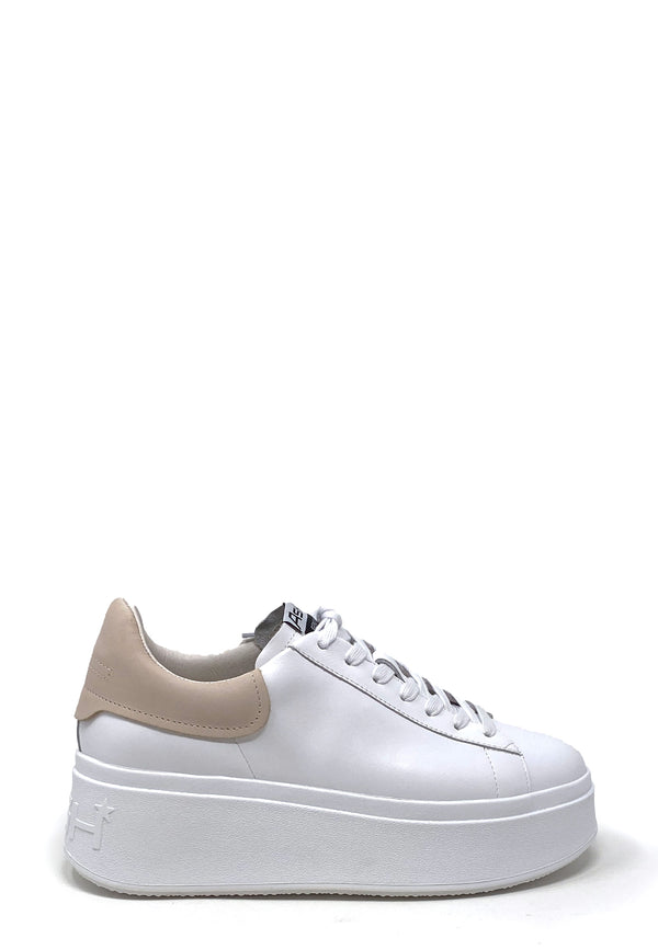 Moby Plateau Low Top Sneaker | White Pink