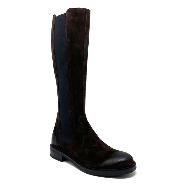 Triver-Flight 424 Langschaft Chelsea Boots