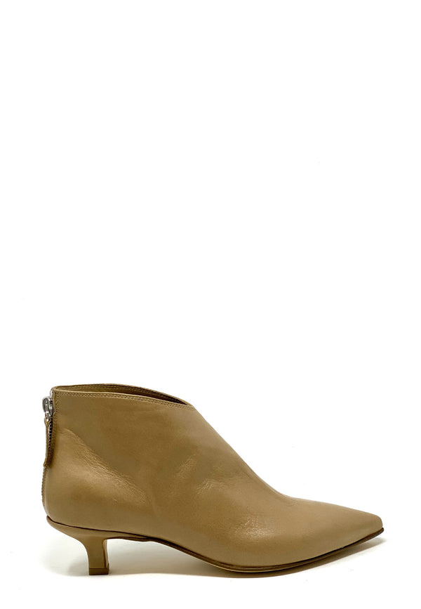 Helle Ankle Boots | Nude