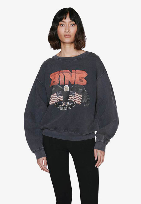 Vintage Bing Sweatshirt | Black