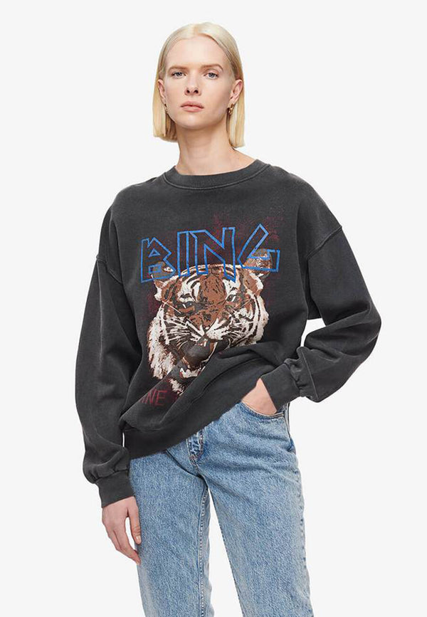 Tiger Sweatshirt | Black