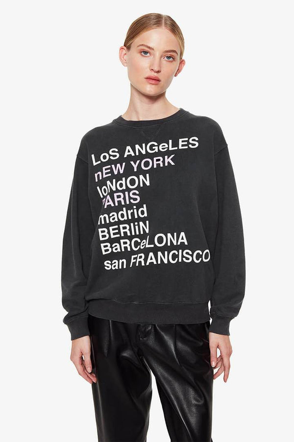 City Love Sweatshirt | Charcoal