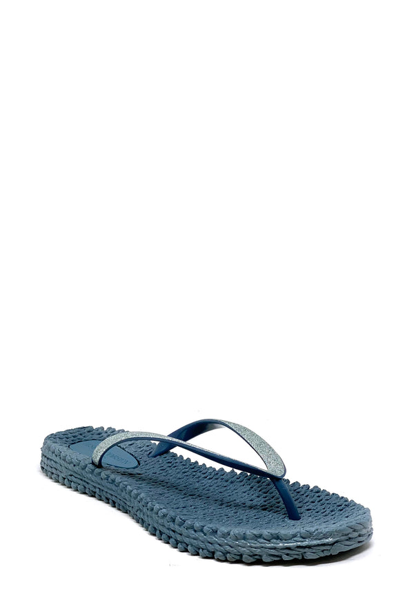 Cheerful Zehentrenner Sandale | Light Blue