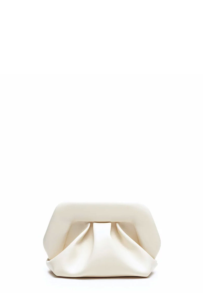 Gea Mini Clutch | Ivory