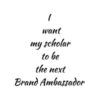 I want to be a Brand Ambassador