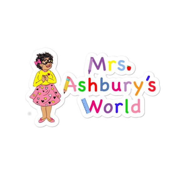 Mrs. Ashbury Bubble-free stickers