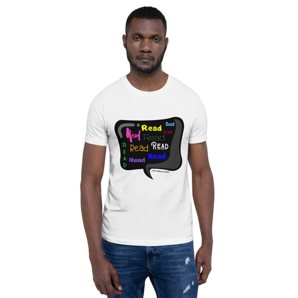 Mrs. Ashbury Read Colorful Short-Sleeve Unisex T-Shirt
