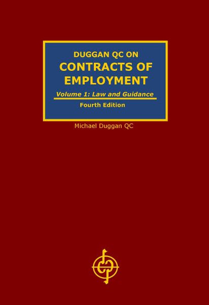 BROCHURE FOR DUGGAN QC ON CONTRACTS OF EMPLOYMENT (4th Edition)