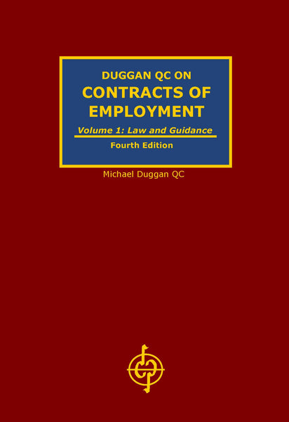 BOOK REVIEW OF DUGGAN  QC ON CONTRACTS OF EMPLOYMENT  (4TH EDITION)