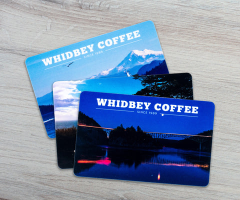 Whidbey Coffee Gift Card