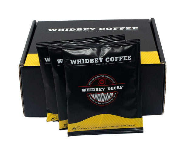 Steeped Whidbey Decaf Box