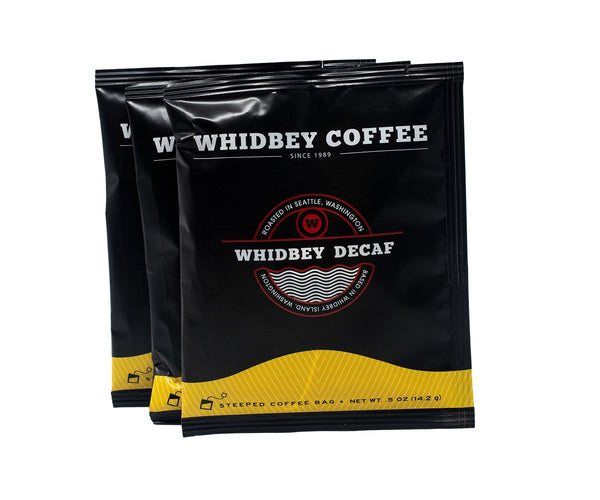 Steeped Whidbey Decaf Box (10ct.)