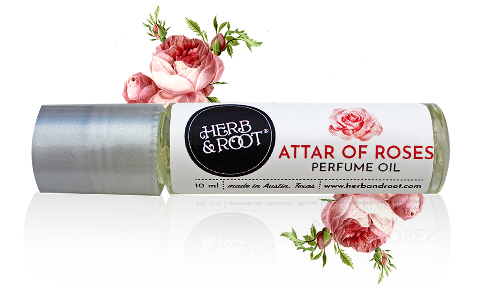 Attar of Roses Perfume Oil