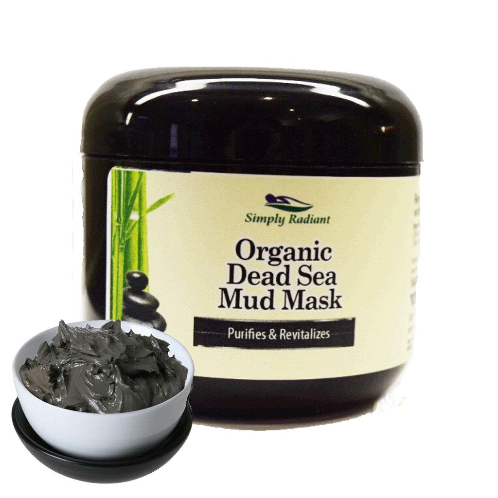 Organic Dead Sea Mud Mask With Aztec Clay