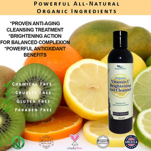 Organic Vitamin C Skin Brightening Cleanser