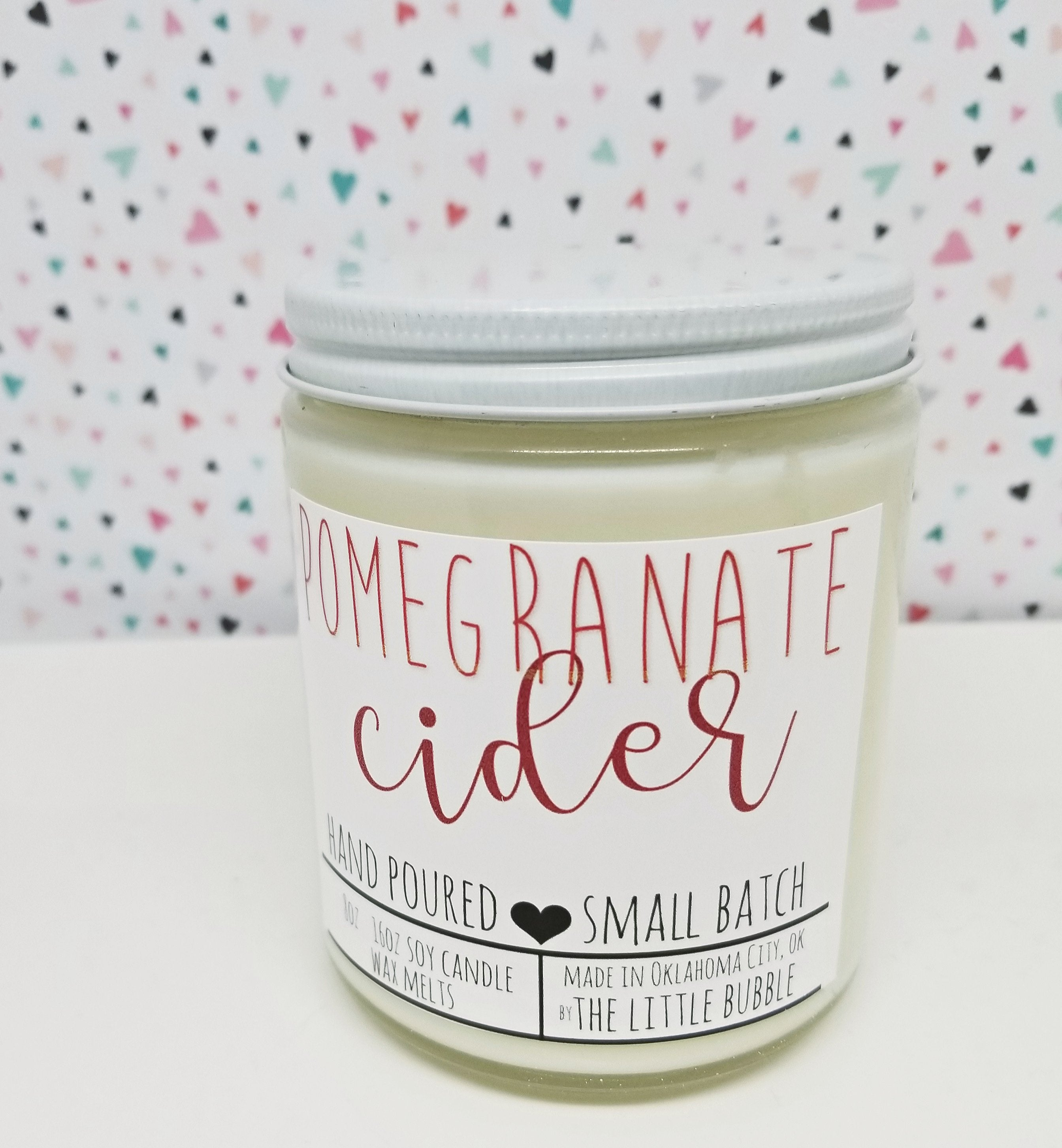 Pomegranate Cider Candle