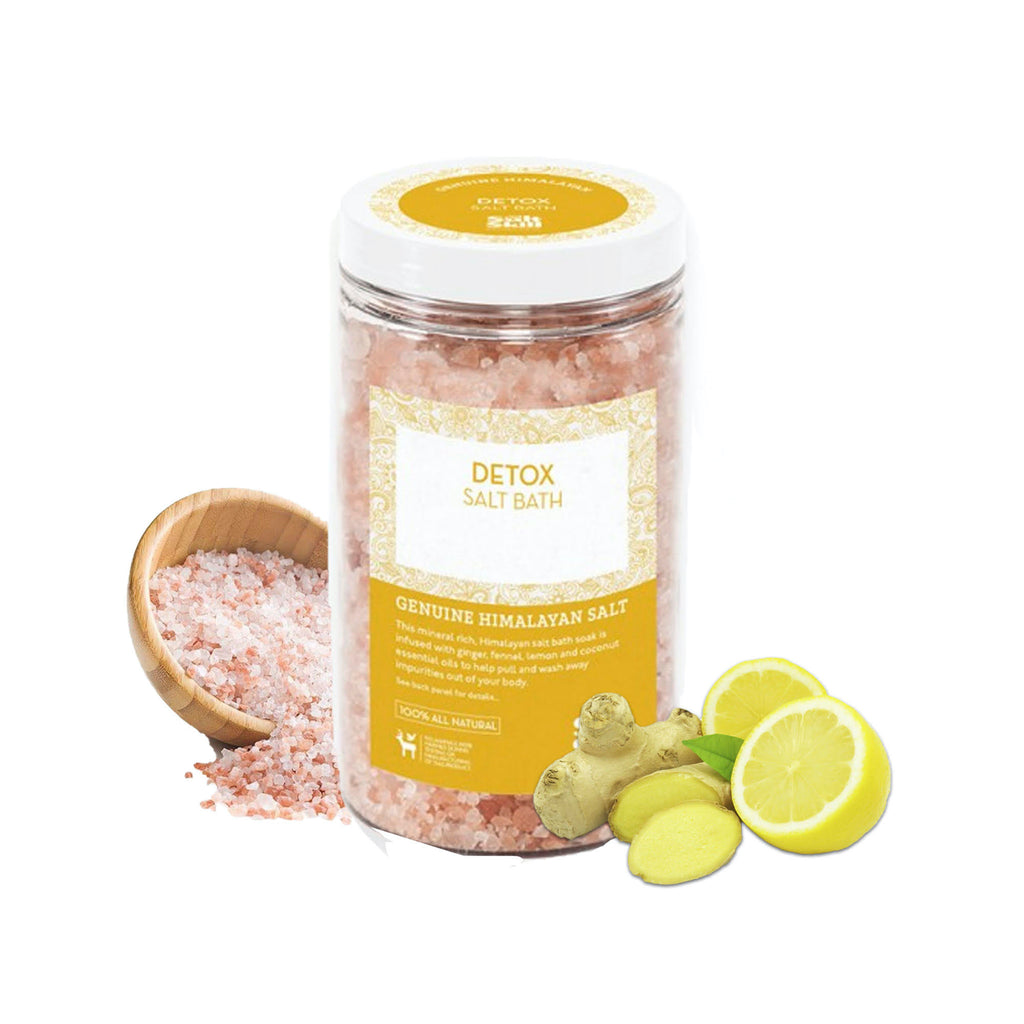 Salt Skill - Natural Himalayan Soaking Bath Salts Detox 32 OZ