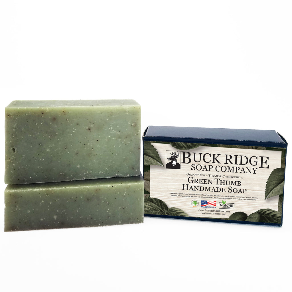 Green Thumb Men's Handmade Soap - Wands Of Nature