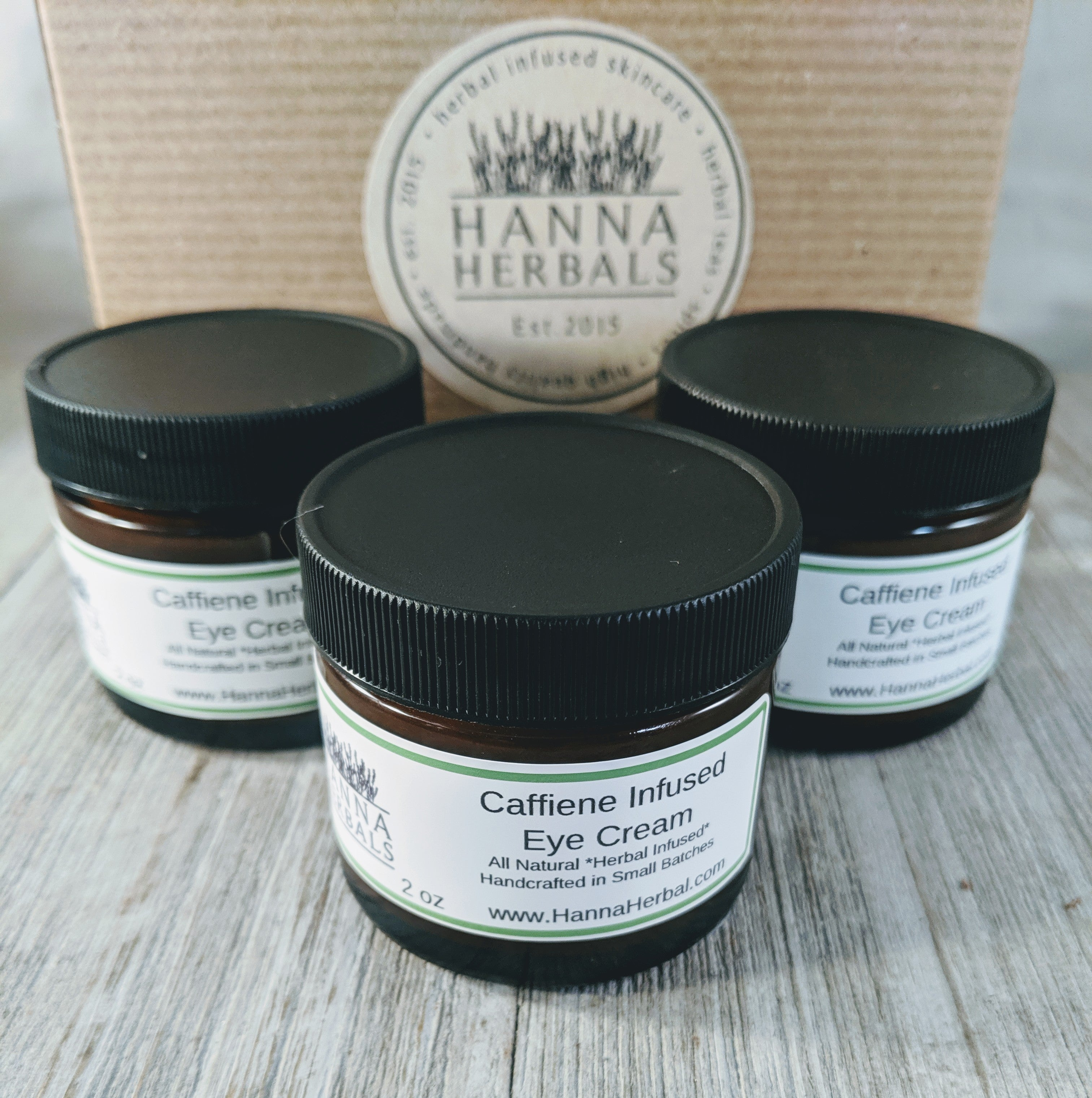 Caffiene Infused Eye Cream - Wands Of Nature