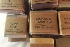Rosemary and Sage Handcrafted Soap - Wands Of Nature