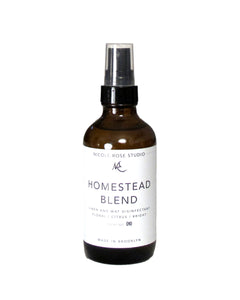 Homestead Blend Organic Essential Oil Disinfectant Spray