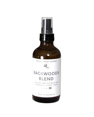 Backwoods Blend Organic Essential Oil Disinfectant Spray