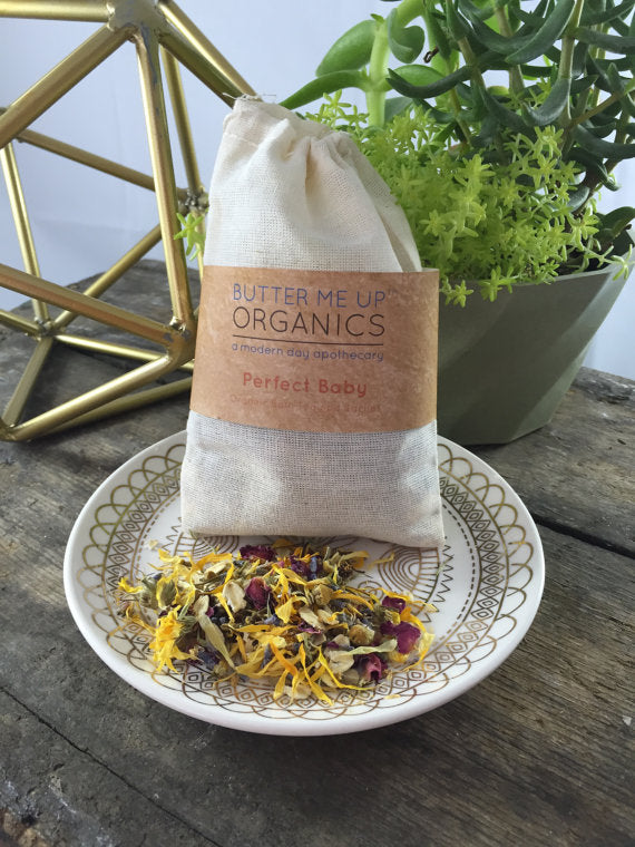 Perfect Baby Organic Bath Tea/ Sachet - Wands Of Nature