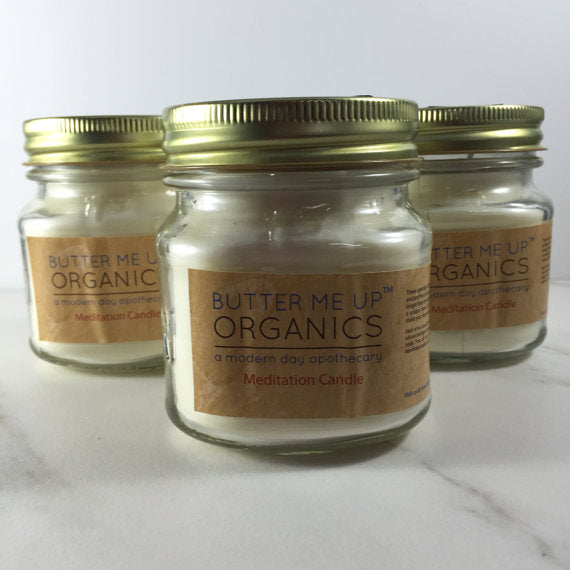 Soy Wax Essential Oil candle (burns extra long) - Wands Of Nature