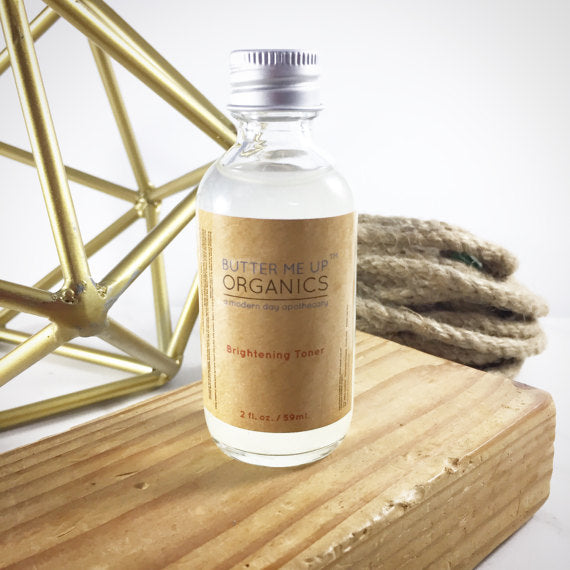 Organic Brightening Toner - Wands Of Nature