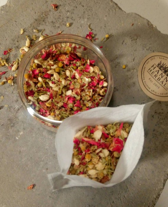 Floral blend Bath Tea - Wands Of Nature