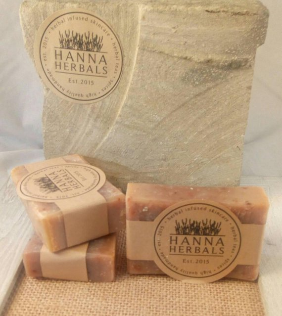 Egyptian Amber Soap 4 ounce bar -shea butter soap - Wands Of Nature