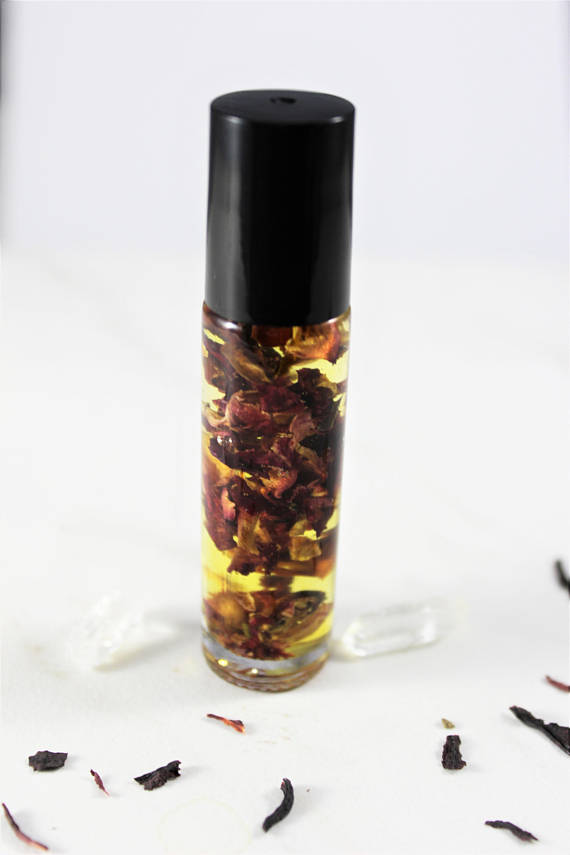 Organic Essential Oil Blend perfume - Wands Of Nature