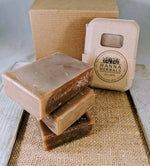 Amber Noir Goats Milk Soap - Bath and Beauty - - Wands Of Nature